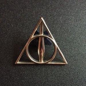 Jewelry - Deathly Hallows Harry Potter Pin